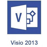 MICROSOFT Visio Professional 2013 [D87-05962] - Software Office Application Licensing